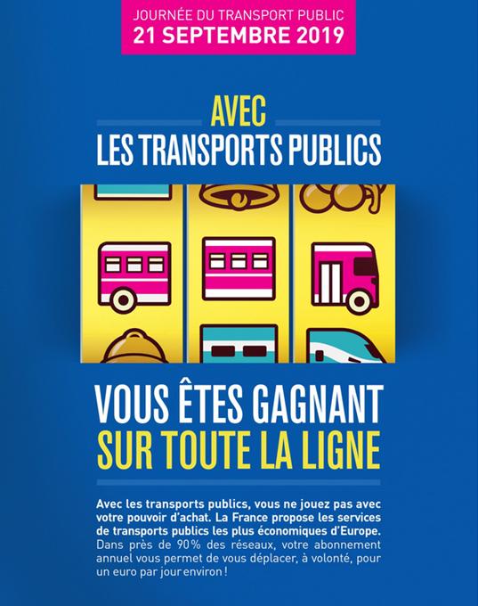 """Résultat de recherche d'images pour """"journée du transport public 2019"""""""